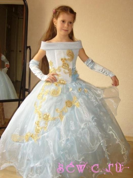 Длинные платья своими руками фото
