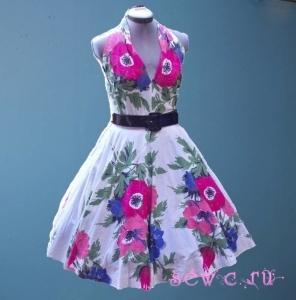 ...что с помощью пышного подъюбника можно преобразить любое платье с расклешенной юбкой или юбкой, сшитой в форме...