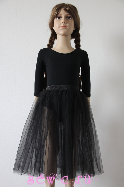 Черная юбка доставка