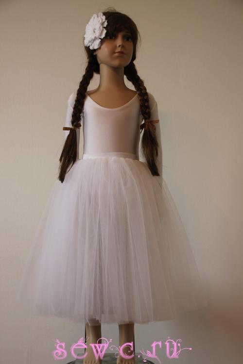 Пышная юбка солнце для девочки своими руками из фатина