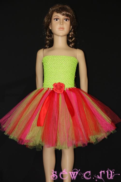 Детская юбка из фатина с доставкой