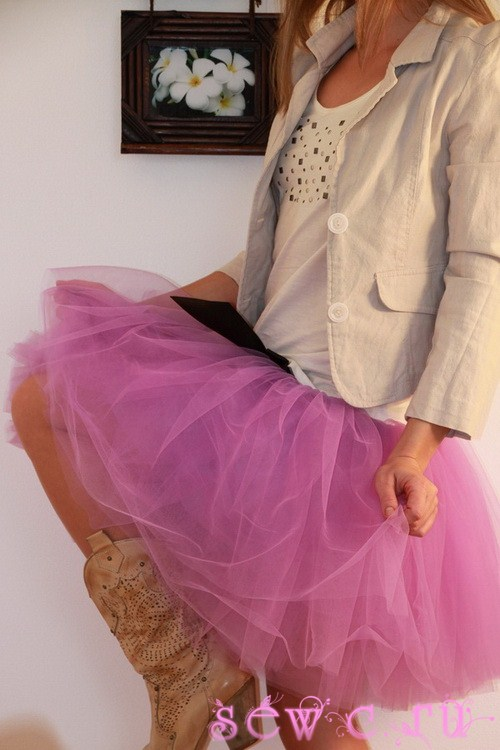 И короткие мини пышная юбка и юбка