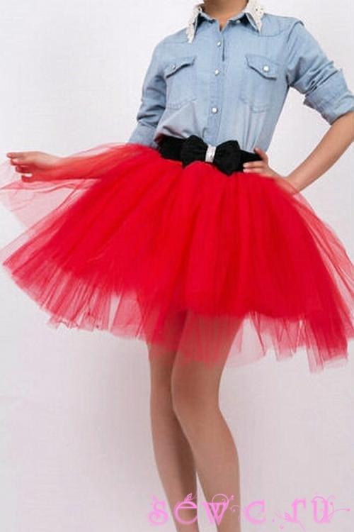 Пышная юбка пачка своими руками фото 438