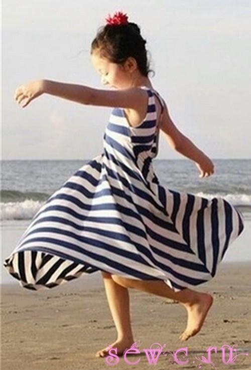 Купить морское платье