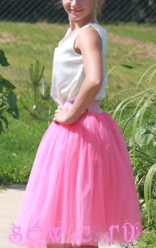 Пышные юбки 60 см