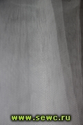 Фатин Сетка Жесткая, цв. Белый 1,8 м. Цена за метр.