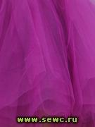 Фатин мягкий, цв.Фиолетовый 1,2 м. Цена за метр.