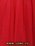 Фатин Сетка Жесткая, цв. Красный 1,8 м. Цена за метр.