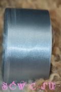 Атласная лента 50 мм. Рулон, цв. Серый.