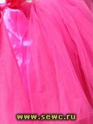 Атлас-стрейч, цв. Ярко-розовый, цена за 1 м/пог. Шир. 1,5 м.