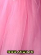 Фатин мягкий, цв.Розовый 1,2 м. Цена за метр.