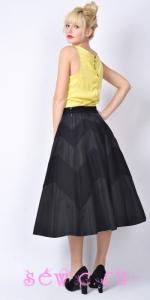 Платье с юбкой солнце 60 х