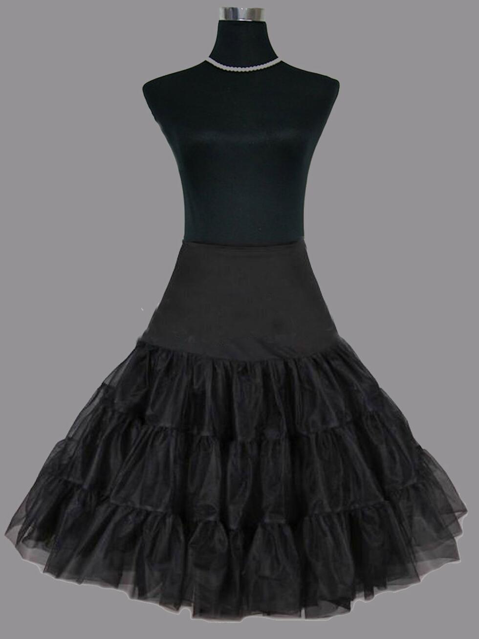 Пышная юбка с подъюбником из фатина
