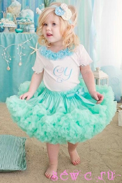 как связать юбку девочке 4 лет спицами с описанием