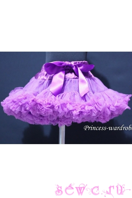 9c0f890bff4 Пышная юбка американка Pettiskirt фиолетовая