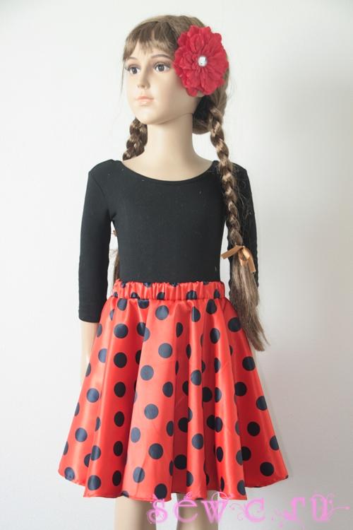 Ретро юбка на девочку
