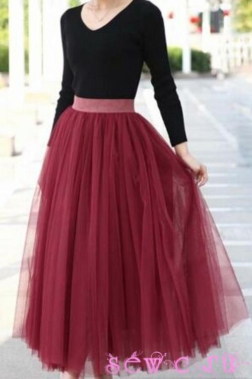 Пышная юбка доставка