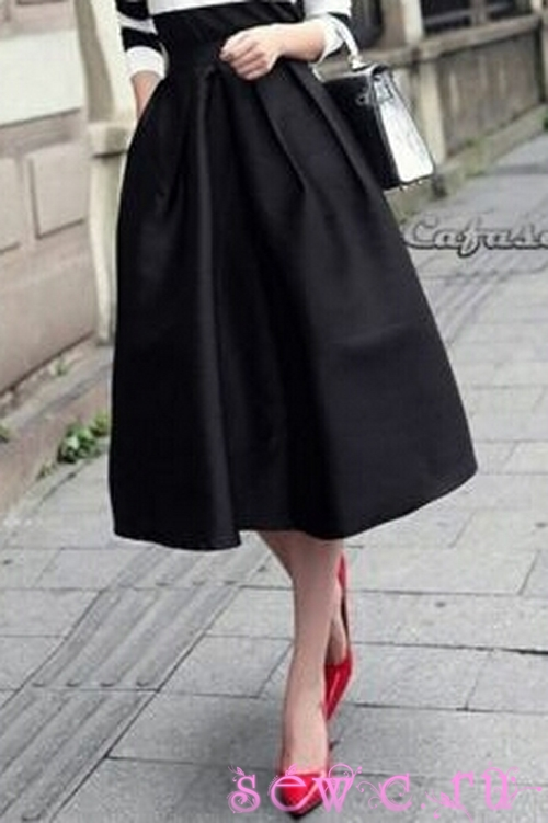 Юбки в винтажном стиле