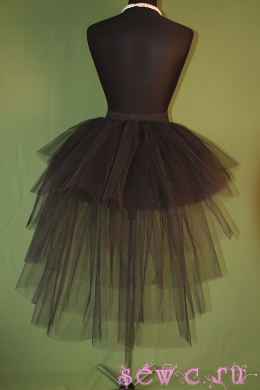 Пошив юбку пачку из фатина