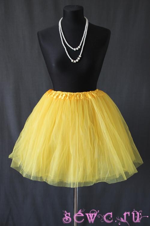 Пышная туту юбка