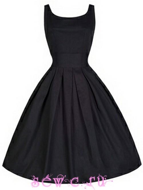 af0623689a02 Платье в стиле 50-60-х в
