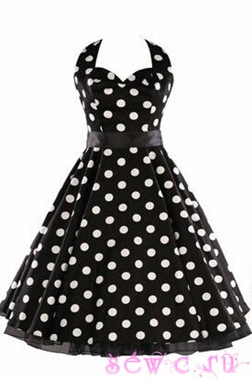 Платье в стиле 60-х купить