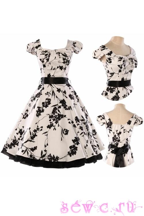 Магазин платьев в стиле 50-60 годов