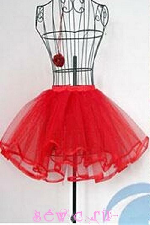 Подъюбник юбкой для девочки купить