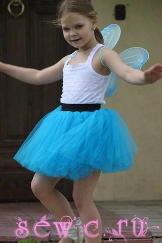 Пышные юбки из фатина для девочек фото