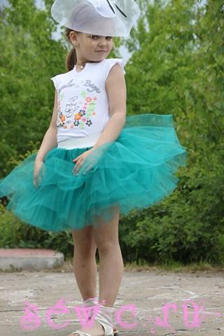 Юбка пышная с чем носить девочке