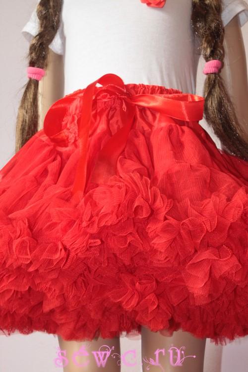 d8f3606687f9 Пышная юбка американка Pettiskirt стандарт, красная, 3-4 - 1199 руб., 5-6,  7-8 лет.