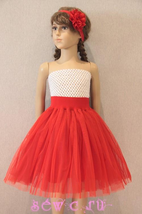 507107376be2 Юбка пачка для девочки красная, дл.35-40 см. (в наличии более 10 шт.)