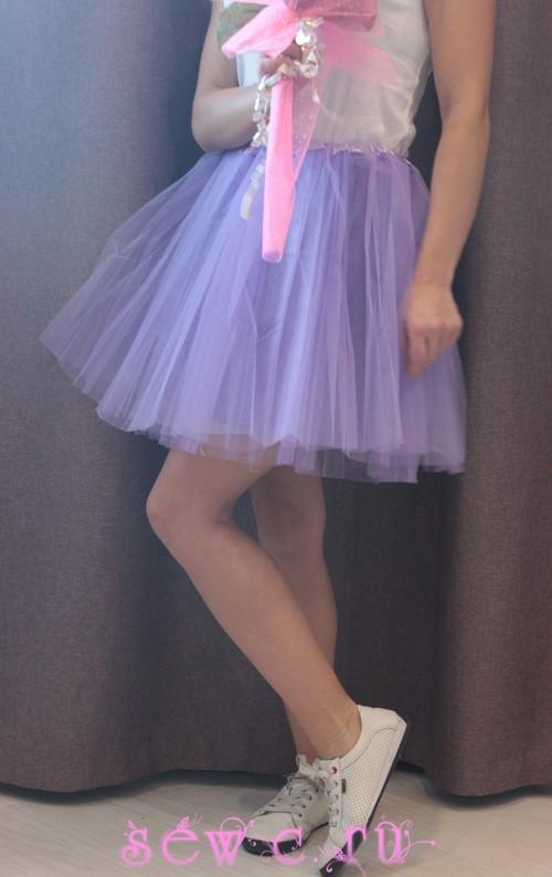 Длина юбки 45 см